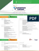 Programa Preliminar 3er Foro Nacional (2)