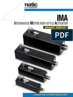 Tolomatic IMA Integrated Motor Rod-Style Actuator Brochure