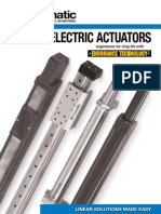 Tolomatic Rod and Rodless Style Electric Actuators Brochure