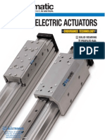 Tolomatic MXE Electric Actuators Catalog