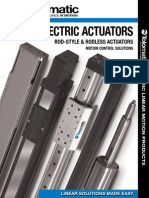 Tolomatic Electric Linear Motion Products Foldout Brochure