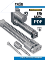 Tolomatic ERD Electric Rod-style Actuator Brochure