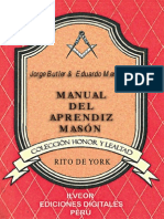 Manual Del Aprendiz Rito York-Butler