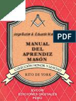 Manual Del Aprendiz Rito York-Butler