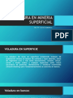 Voladura en Mineria Superficial