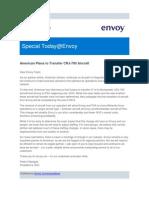 Envoy Letter to Employes 9-4-2014