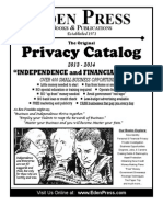 New Privacy Catalog-Eden Press