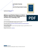 021 Review Hartung_Militancy and Political Violence in Shiism