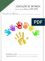 Registos de Educação de Infância 14-15 Bloguefólio