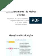Comissionamento de Malhas Elétricas