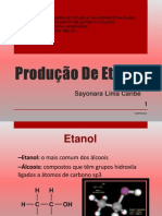 Produção de Etanol