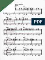 RНTMOS Para Acompaсamiento - BOSSA NOVA 2Є Part , Formulas de Acompaсamiento Para Piano .