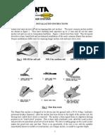 1 Basic Manta Ray Installation With Photos