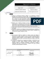 09 Herramienta N°3 Procedimiento Bloqueo AISLAMIENTO Y BLOKEO MINERA ESCONDIDA