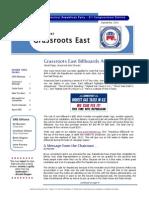 GRE September 2014 Newsletter