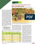 Diversificación de ingresos en los hogares agropecuarios