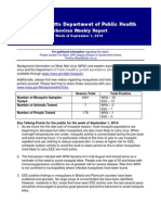 DPH 9-1 Arbo Legislative Report
