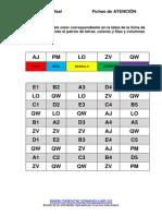 Completa La Tabla Segun Patron Ficha de Trabajo Editable (1)