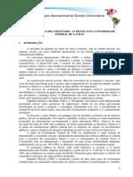 Planejamento Orçamentário as Práticas Da Universidade Federal de Lavras