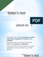 Tollen's Test