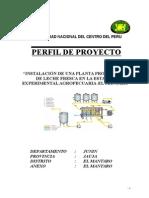 Perfil Planta de Lacteos-2011