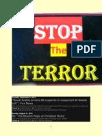 This Blog is Devoted to Ending Terrorism Around the World Thru Exhortation