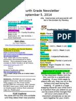 friday september 5 2014