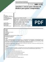 NBR-11725 Conexões Roscas Cilindros