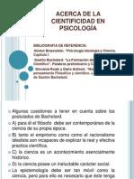 La Cientificidad en Psicología