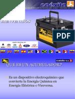 Mantenimiento Preventivo de Baterias y Sistema Electrico