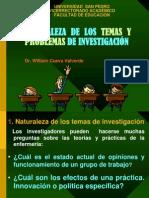 Temas y Problemas de Investigación-2011