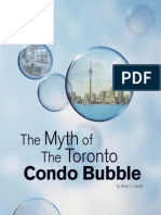 Myth of the Toronto Condo Bubble Booklet