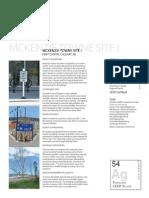 Short Case Study - Mckenzie Town Site I