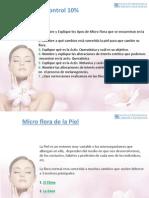 PDF Micro Flora, Activ. Queratinica y Melanica, Sebacea y Sudoral.