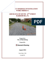 Harrisburg sinkhole investigation