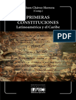 Primeras Constituciones Latinoamérica y El Caribe