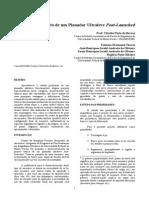Projeto de Um Planador Ultraleve Foot-Launched