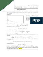 Corrección Examen Final, Ecuaciones Diferenciales, Semestre I 2007