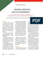 Ie269 Soler Instalaciones Electricas Para Uso Hospitalario