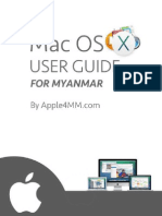 Mac OS X User Guide for Myanmar