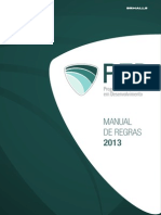Manual de Regras PED 2013