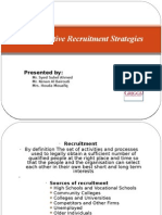 Cost Effective Recruitment Strategies Presentation-Group 1