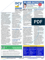 Pharmacy Daily for Fri 05 Sep 2014 - Osteo may affect more, General Assembly push gathers steam, Sinclair's FIP election, SPD prices confirmed, and much more