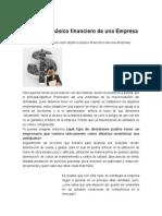 Objetivo Básico Financiero de Una Empresa
