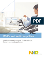 RF/IFs and Audio Amplifiers