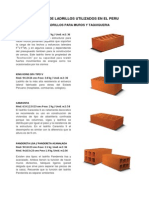 Tipos de Ladrillos Utilizados en El Peru-imprimir