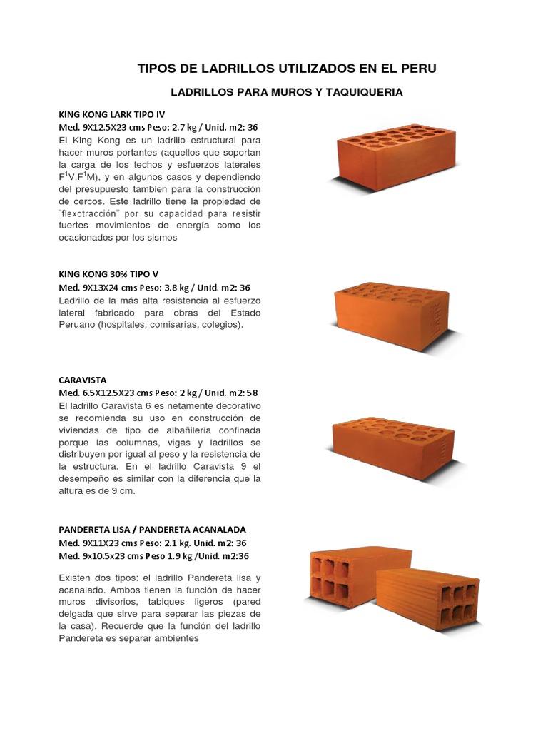 Tipos de ladrillo caravista paredes de estilo por with - Tipos de ladrillos huecos ...