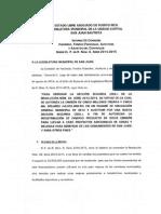 Informe P. de R. Núm. 8 Serie 2014-2015