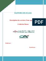 143096988 RAPPORT de STAGE Credit Du Maroc Doc