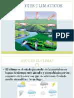 FACTORES CLIMATICOS
